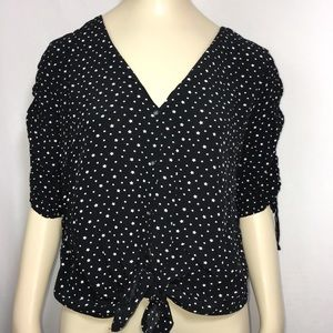 Abercrombie and Fitch Star Button Down blouse S
